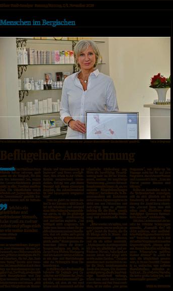 Koelner Stadanzeiger Kosmetikinstitut Michels